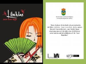 invitacion presentacion libro libelulas