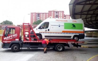 Aprobada la reparación de la ambulancia de Protección Civil