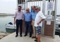 El alcalde se congratula de la inauguración de las instalaciones y pantalanes del club náutico linense Mar de Levante en el Puerto de la Atunara