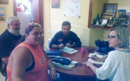 El alcalde hará las gestiones necesarias para que la nueva asociación socio cultural del carnaval linense tenga una sede