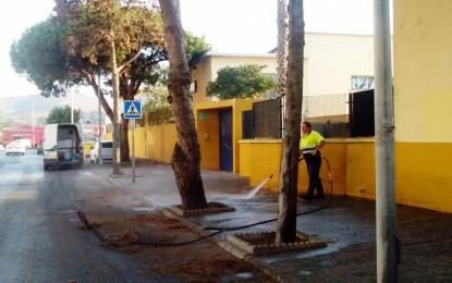 El grupo socialista denuncia las carencias en mantenimiento, conservación y limpieza de los colegios de La Línea