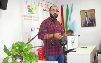 IU exige a Franco que se pronuncie sobre la falta de seguros para los trabajadores municipales