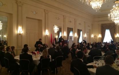 Lleno completo para el Día de Gibraltar en Ginebra, organizado por el Centro Financiero