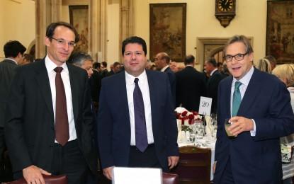 Picardo celebra en Londres los avances de Gibraltar en su legislatura y la confianza que demuestran las grandes inversiones extranjeras