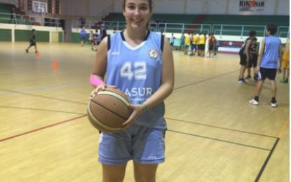 Mireya Benítez, cadete de ULB al Campeonato Andalucia