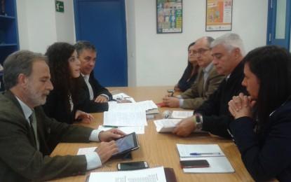 Los candidatos al Congreso por Cádiz explican en Algeciras las propuestas del PSOE en materia de políticas sociales para el 20-D