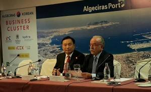 Algeciras-Korean Business Cluster. Embajador y Presidente APBA