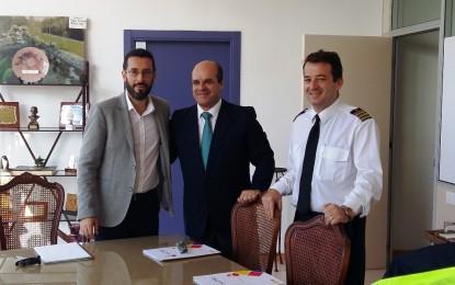 Franco y el presidente del consorcio provincial de bomberos acuerdan planes de pago para cubrir las deudas