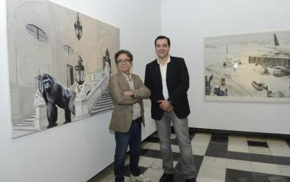 Exposición de Juan Ángel González de la Calle en el Claustro de la Diputación