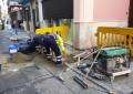 Mantenimiento Urbano acomete obras de reposición de acerados en la zona centro