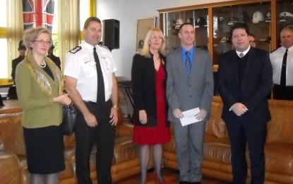 Copa de Navidad y distinciones de la Royal Gibraltar Police