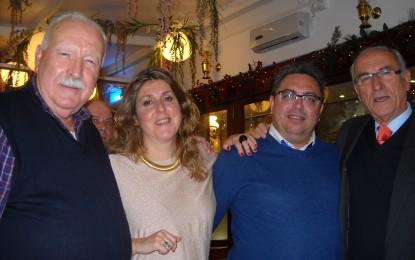 Numerosa asistencia a la cena de Radio Bahía Gibraltar en el Restaurante el Faro de Gibraltar