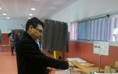 Los principales líderes políticos de La Línea han ejercido ya el derecho al voto