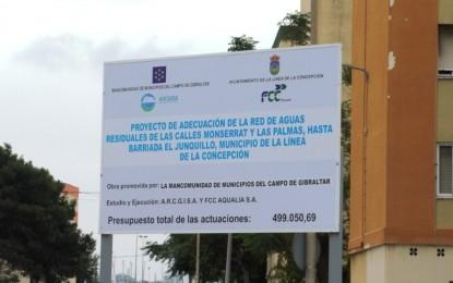 Franco aplaude el inicio de obras del proyecto de adecuación de la red de aguas residuales de las calles Montserrat y Las Palmas y la construcción de una nueva estación de bombeo