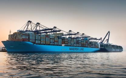 Las terminales de contenedores del Puerto de Algeciras operaron 99 megaships durante 2015