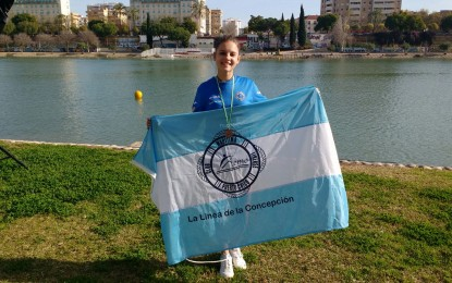 El Club Maritimo Linense consigue su primera medalla de bronce en su debut competitivo