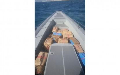 Hallados 650 kg de resina de cannabis en aguas del levante gibraltareño