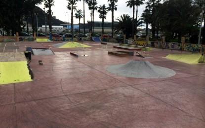 El club de skate agradece a Infraestructuras las mejoras en la iluminación de las pistas de Poniente