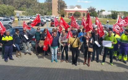 Protesta sindical por los incumplimientos de Arcgisa