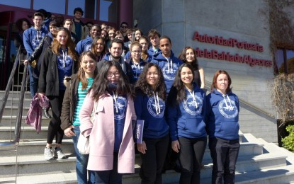 Estudiantes de La Sorbona conocen el Puerto de Algeciras