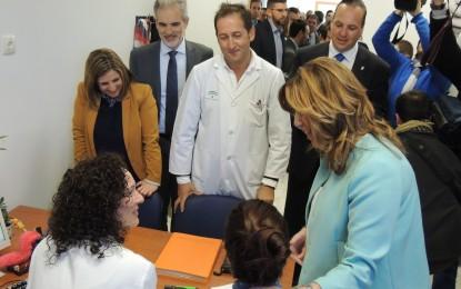 Irene García valora el ejemplo de colaboración institucional para abrir el Centro de Salud Evaristo Domínguez de San Roque