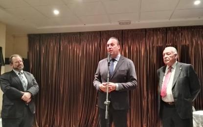 """Ruiz Boix: """"Agradezco a todos los que hacen posible este acto de unión y solidaridad"""""""