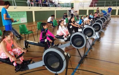 """243 escolares han participado este viernes en el programa de la oferta educativa """"rema y mueve tu cuerpo"""""""