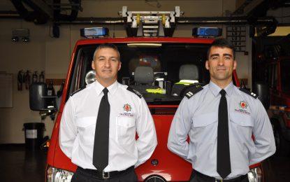 Nueva promoción del servicio de bomberos y rescates de Gibraltar