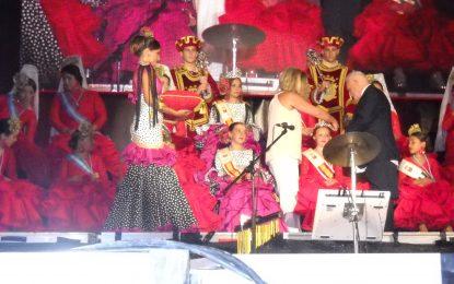 Mar Villanueva Mena, reina infantil de la Feria linense