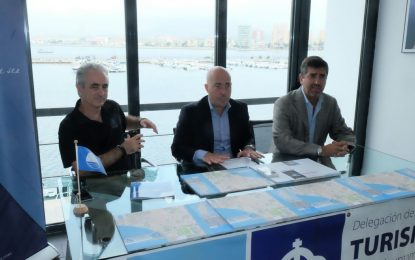 Presentado el nuevo plano turístico de La Línea, fruto de la colaboración entre la concejalía de Turismo y Alcaidesa Marina