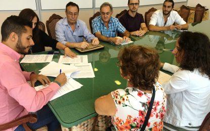 Firmados los convenios para la segunda edición de la Escuela Municipal de Artistas