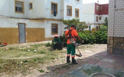 Trabajos realizados por la concejalía de Parques y Jardines en la última semana