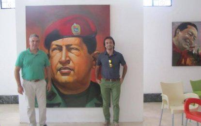 El comité local del Partido Comunista en La Línea felicita a David Morales por el éxito en su gira americana