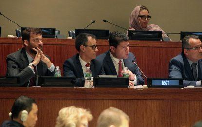 Picardo constata que todos los beneficios de la oferta de cosoberanía ya los aportaba el Foro Trilateral tras su discurso en la ONU