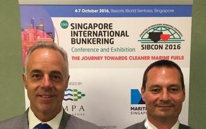 La Autoridad Portuaria de Gibraltar asiste a la Conferencia Internacional sobre Bunkering de Singapur (SIBCON)