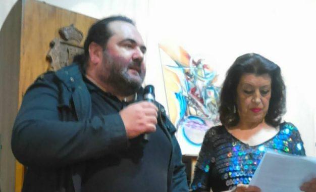 Miguel Becerra estuvo en el Aniversario de la Revista Cultural Hércules