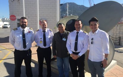 La colaboración con el Puerto de Singapur pone de relieve la excelencia de Gibraltar en materia de bunkering