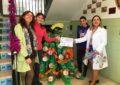 Premios para casi todos en el concurso de árboles de Navidad elaborados con material reciclado de la concejalía de Medio Ambiente