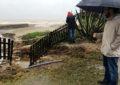Protección Civil alerta de la alerta naranja por fenómenos costeros y fuertes vientos