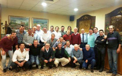 Acto de convivencia de los veteranos de la Balona por los 15 años de vida de la asociación