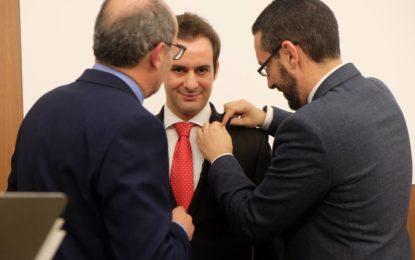 Antonio Sánchez Espinel recibe el premio Empresario del Año de Apymell