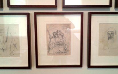 El Museo Cruz Herrera ya expone el boceto donado la semana pasada
