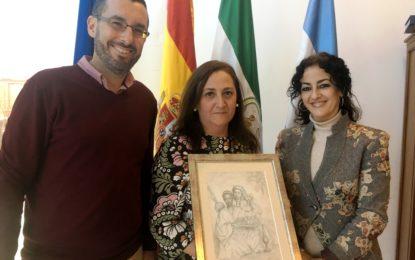 """Donan al Museo Cruz Herrera un boceto original de la obra """"Esclavo moro"""""""