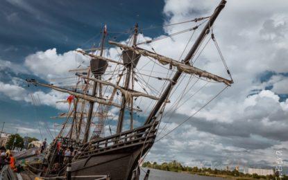 La Nao Victoria estará desde el martes y hasta el día uno de marzo en el Puerto Alcaidesa Marina