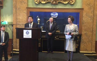 La Princesa Real confirma el patrocinio al Festival Literario Gibunco de Gibraltar por tres años más