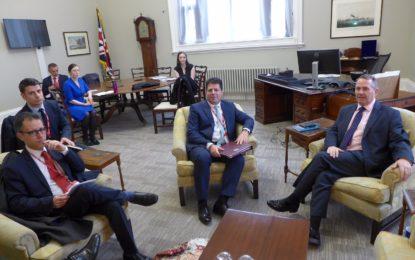 Picardo agradece las fuertes muestras de apoyo a Gibraltar de los Lores en su debate sobre el Peñón y el Brexit