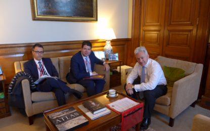 Picardo y García se reúnen con Alan Duncan, Ministro del Reino Unido para Europa y el continente americano