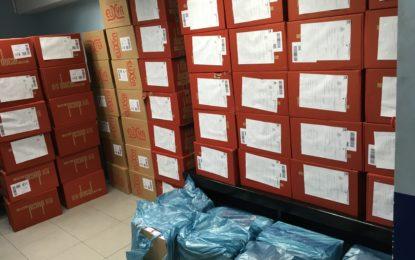 1500 cartones de tabaco incautados en la operación Bayview en Gibraltar