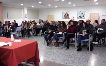 Fegadi Cocemfe desarrolla su junta rectora en el centro polivalente de La Línea