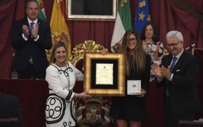 Irene García apela al talento de la sociedad de la provincia de Cádiz para forjar el mejor futuro posible